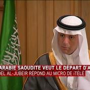 Il n'y a pas de place pour Bachar El-Assad dans l'avenir de la Syrie, selon le ministre saoudien des Affaires étrangères