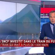 La SNCF investit 80 millions d'euros dans un train pouvant aller à 1.100 km/h