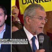 Election présidentielle en Autriche: les deux candidats au coude-à-coude