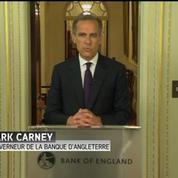 Brexit : La Banque d'Angleterre est prête à injecter 250 milliards de livres en cas de besoin