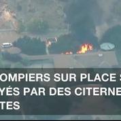 Evacuation forcée autour de Los Angeles après un feu de forêt