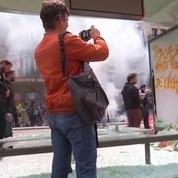 Violents heurts à Paris lors de la manif contre la loi Travail