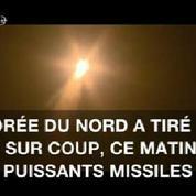 Deux nouveaux tirs de missiles nord-coréens