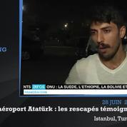 Attentat à Istanbul : des rescapés témoignent