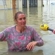 Crue record à Nemours: 4.000 personnes évacuées