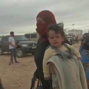 Des milliers de Syriens bloqués à la frontière avec la Jordanie