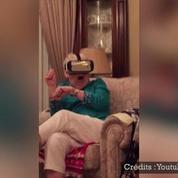 La réalité virtuelle, le cauchemar de cette grand-mère