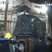 Les travaux de rénovation du tombeau de Jésus ont débuté