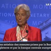 Brexit: Christine Lagarde respecte la décision britannique