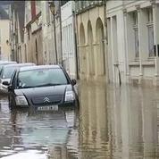 Montargis toujours sous les eaux après les pluies torrentielles des derniers jours