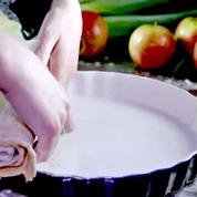 Comment réaliser une tarte de saison facilement