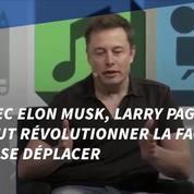 Le patron de Google veut inventer une voiture volante