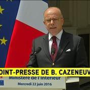 Bernard Cazeneuve appelle les organisateurs à la responsabilité le 23 juin