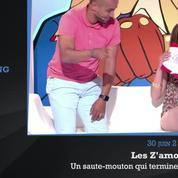 Zapping TV: saute mouton raté, finesse à la française et jeux de mots graveleux