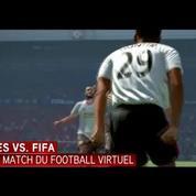 FIFA vs. PES, le match du football virtuel