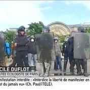 Manifestation interdite: «C'est aberrant et désastreux», dénonce Cécile Duflot