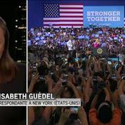 Barack Obama loue Hillary Clinton pour leur premier meeting commun