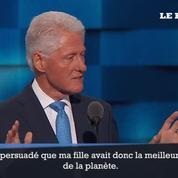 Bill Clinton délivre un discours émouvant pour soutenir sa femme