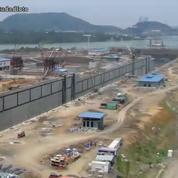 Canal de Panama : les travaux d'élargissement résumés en timelapse