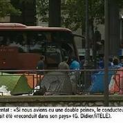 Nouvelle évacuation d'un camp de migrants à Paris
