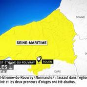 Prise d'otage à Saint-Etienne-du-Rouvray : tout le quartier bouclé selon un témoin