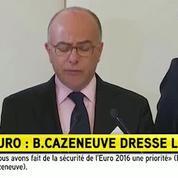 Bernard: Cazeneuve: «Les forces de l'ordre ont été d'une fermeté totale pendant cet Euro»