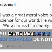 Barack Obama rend hommage à Elie Wiesel