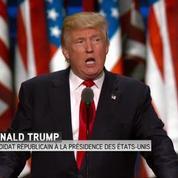 Donald Trump promet un pays où règne l'ordre public