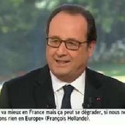 Hollande sur l'économie: «Les choix que j'ai faits étaient les bons»