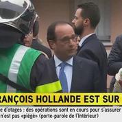 Saint-Etienne-du-Rouvray : Hollande est arrivé sur les lieux