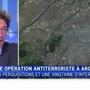 Une vingtaine d'interpellations dans une opération antiterroriste à Argenteuil
