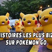 Pokémon GO : les histoires les plus bizarres repérées sur le jeu en réalité augmentée