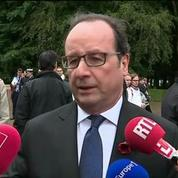 En réponse au Brexit, F. Hollande commémore la bataille de la Somme