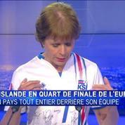 L'équipe française est très forte, mais au football, tout peut arriver, prévient l'ambassadrice d'Islande à Paris