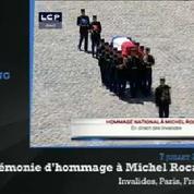 Michel Rocard : revivez la cérémonie d'hommage en 3 minutes