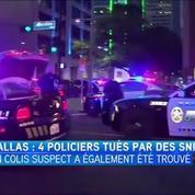 Quatre policiers tués par des tirs à Dallas
