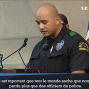 Dallas: l'hommage de la police aux cinq officiers tués
