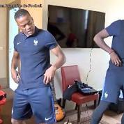 Pogba et Evra se déhanchent sur «le son de l'Euro»