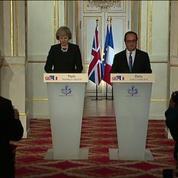 Le Brexit au coeur de la première visite de Theresa May à Paris