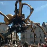 Une araignée géante investit les rues de Nantes