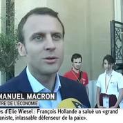 «Michel Rocard fait partie des exemples du XXe siècle», pour Emmanuel Macron