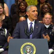 Etats-Unis: l'hommage de Barack Obama aux policiers tués à Dallas