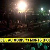 Attentat de Nice : «Une opération importante des secours a été déclenchée»