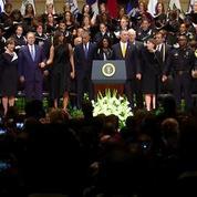 La danse gênante de G. W. Bush lors de l'hommage aux policiers tués à Dallas