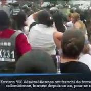 Des centaines de Vénézuéliennes forcent la frontière colombienne pour s'approvisionner