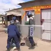 Zimbabwe : la police réprime violemment des grévistes