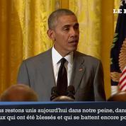 Obama dénonce l'attaque