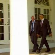 Etats-Unis : premier meeting commun de Hillary Clinton et Bernie Sanders
