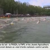 Baignade à Paris : ils nagent dans le Bassin de la Villette