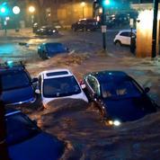 Des inondations impressionnantes dans le Maryland